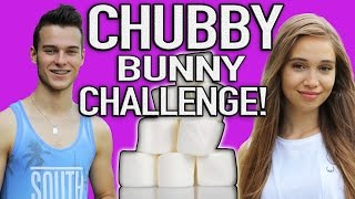 Chubby Bunny Challenge World Record?! | T&C Vlog #2