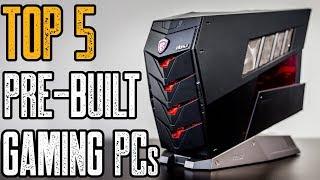 TOP 5: Best MSI Pre-Built Gaming PCs for 2019!