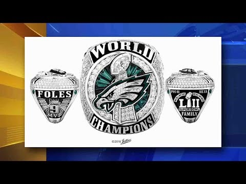Philadelphia Eagles Receive Super Bowl LII Championship Rings