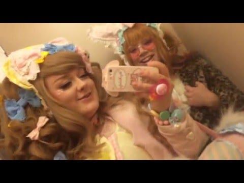 Gothic Teppo goes OTT Sweet - Lolita dinner meet up