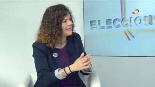 Entrevista a Sofía Castañón en La Lupa. Canal 10.
