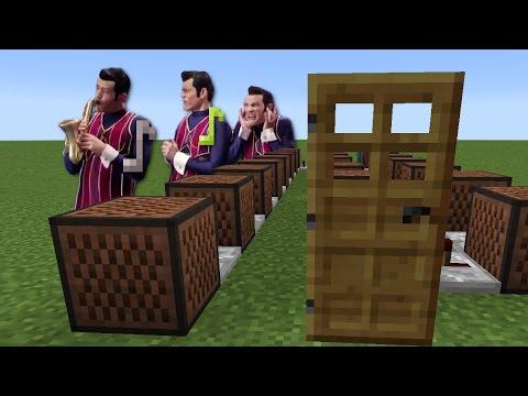 We Are Number One - Minecraft Note Block Doorbell Tutorial