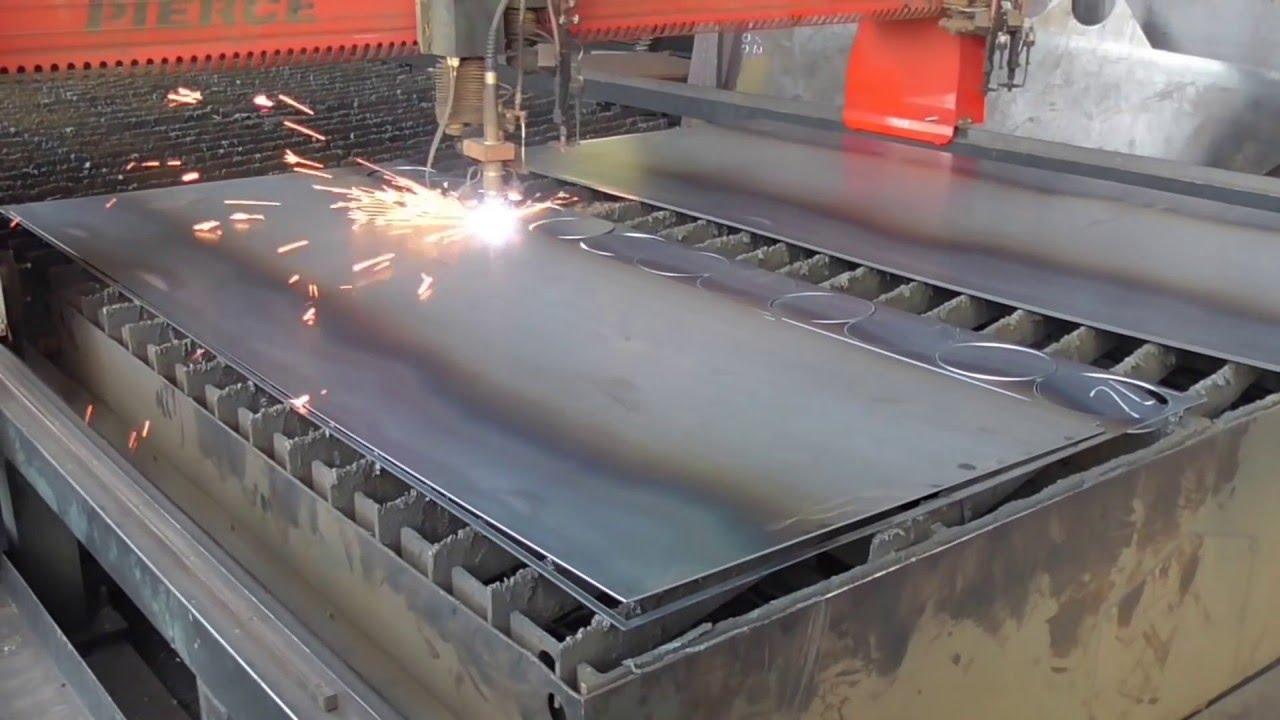 Plasma Cutting Steel Youtube