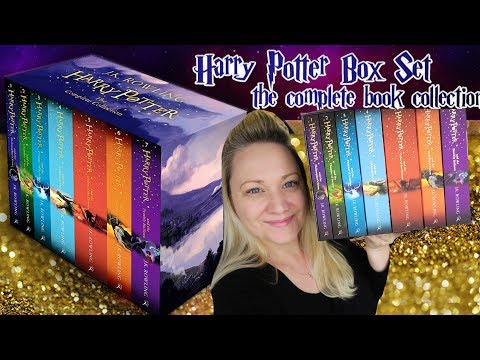 UNBOXING HARRY POTTER BOX SET & PRODUCT REVIEW -  Dymocks