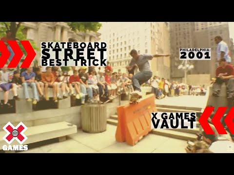 X Games 2001 SKATE STREET BEST TRICK: X GAMES THROWBACK