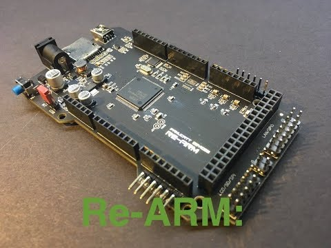 Panucatt Devices Re-ARM Controller for RAMPS ReArm