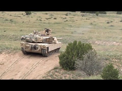 3rd Armored Brigade Combat Team Live Fire Exercise (HD)