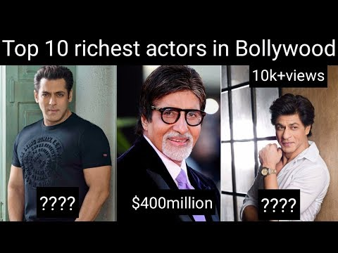 Top 10 richest actors in Bollywood and there charge par movie