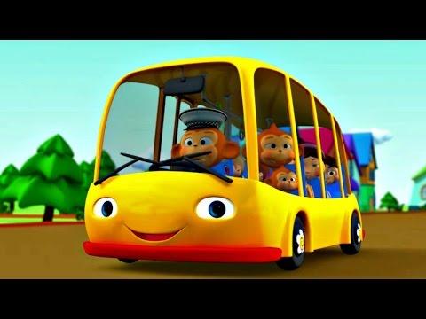 Детская песенка про автобус смотреть видео