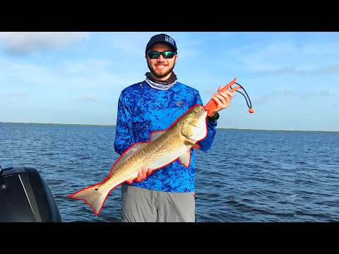 Secret To Fishing Corpus Christi, Texas For Trout And Oversized Redfish With The Topwater In 4K
