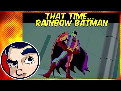 That Time Batman Became Rainbow Batman