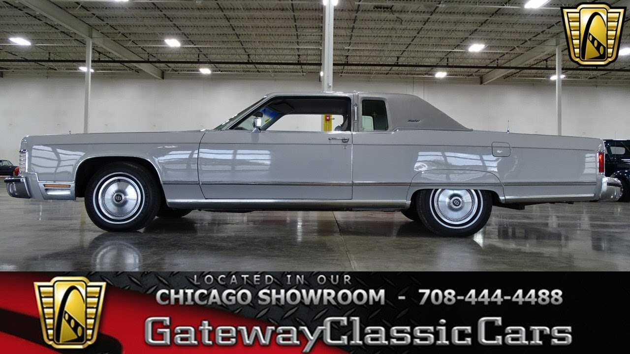 1977 Lincoln Continental - Gateway Classic Cars of Chicago