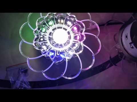 Crystal LED Ceiling Light Fixture Chandelier 3W