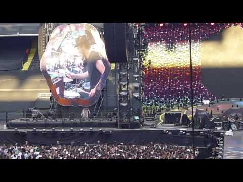 Lyves Live Visons Darkest Hours Opening For Coldplay San Siro Milano July