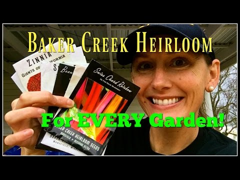 My Top 10 Best From Baker Creek Heirloom Seed Company~