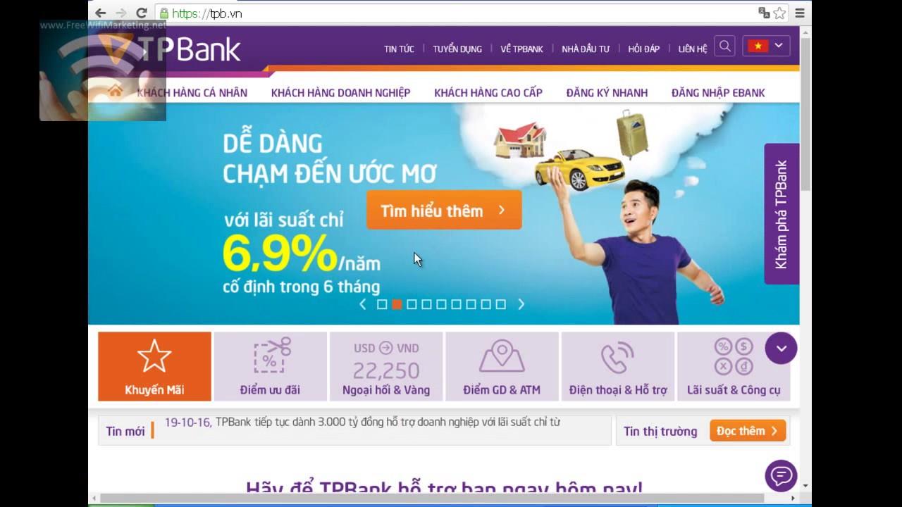 Demo giải pháp quảng cáo không dây Free WiFi Marketing cho ngân hàng
