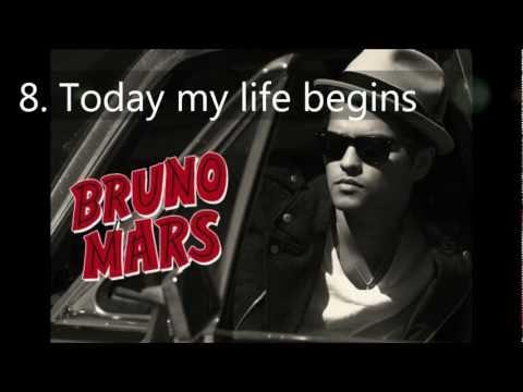 My top 10 bruno mars songs