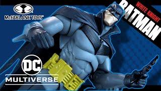 McFarlane Toys DC Multiverse Batman White knight Batman Figure | Video Review