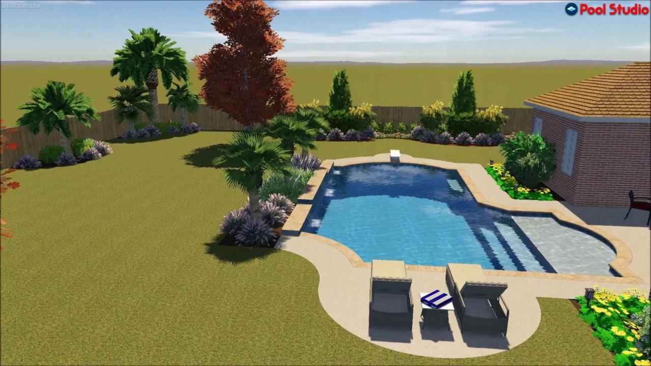 platinum pools the walter backyard dream design by roy murphy