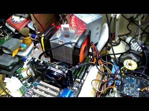 ASUS P5Q SE-XEON E5450 @4.10GHz. OVERCLOCK/GAME TEST/BENCHMARK TEST/BIOS