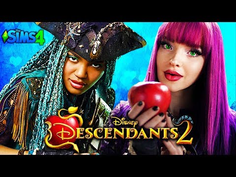 DESCENDANTS 2 - Sims 4 ♥ LOVE IS IN THE AIR ♥ Disney's Descendants