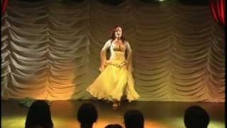 Lulu Sabongi Belly Dancer - Japan Tour Part 4 (Dança do Ventre)