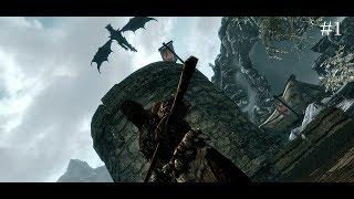 Чуть не обезглавили в игре The Elder Scrolls V: Skyrim Прохождение #1,ДАВАЙ ГЛЯНЕМ!