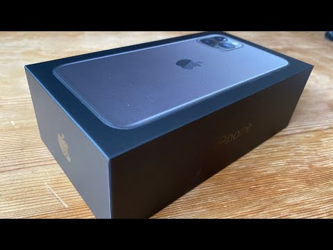 Apple IPhone 11 Pro 512 GB Space Gray Unboxing And Instructions