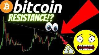 HEAVY BITCOIN RESISTANCE AREA! also LTC and ETH Crypto BTC TA price prediction analysis news trading