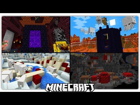 100 New Random Dungeons & Structures in Minecraft 1.10