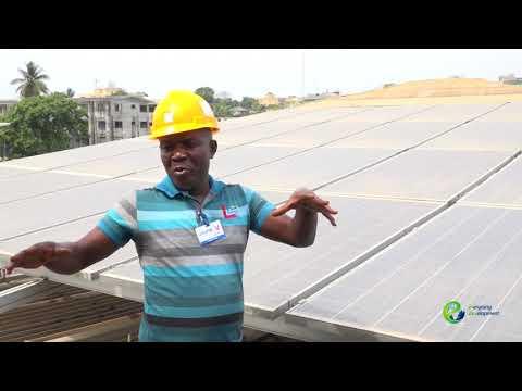 UNICEF Liberia's Solar Installation