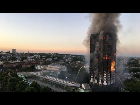 Survivors of UK's Grenfell Tower Block Fire Demand Accountability for the Victims
