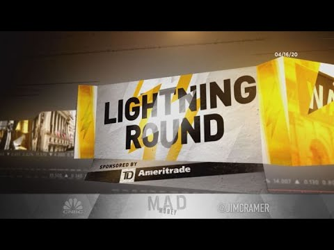 Jim Cramer's Lightning Round: How To Trade Delta Air Lines