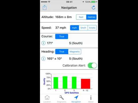GPS Diagnostic  A Test & Measurement Tool for GPS iOS