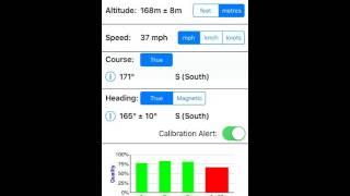 GPS Diagnostic - A Test & Measurement Tool for GPS (iOS) screenshot 5