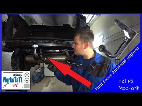 Anhängerkupplung starr Für Ford FOCUS III Kombi ab 2011 E-SATZ 7 polig NEU ABE