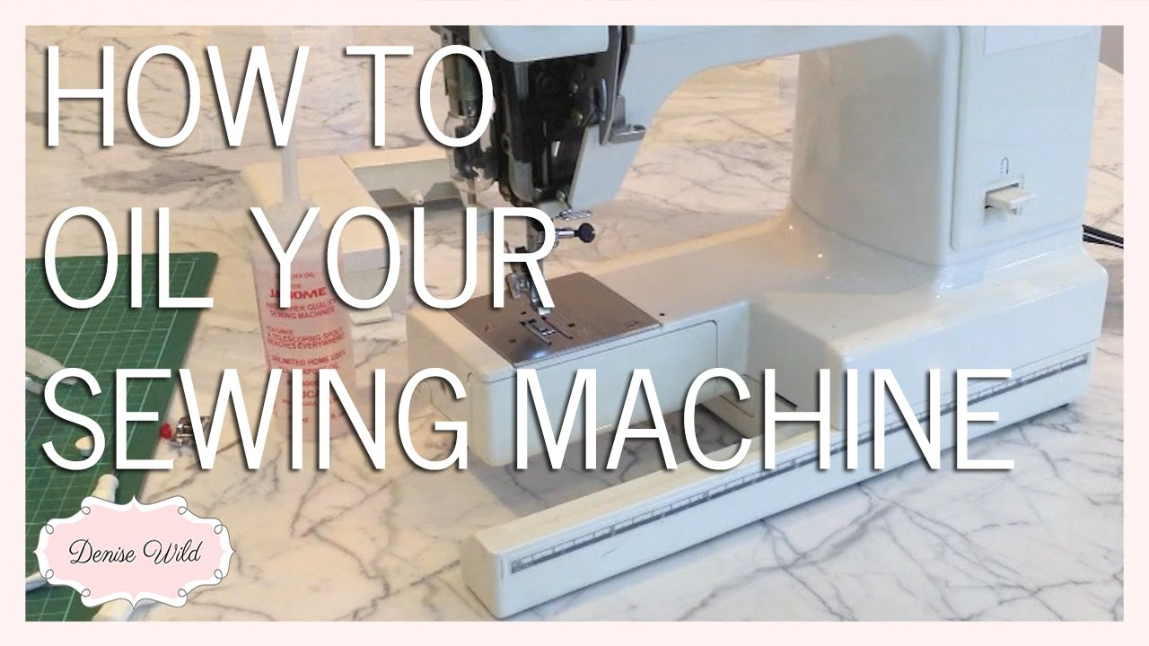 Sewing Machine Oil Where To Buy