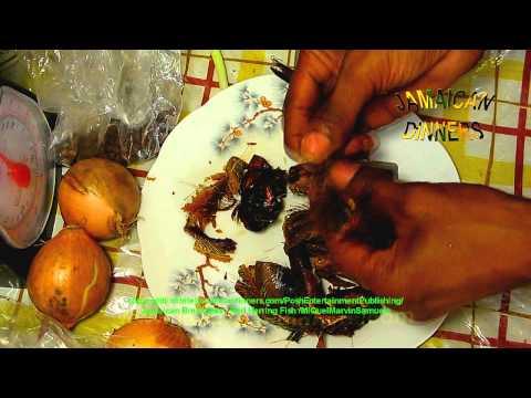 Red Herring Fish - Jamaican Food