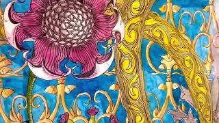 <b>Steppe flower</b> 31.03.2020. 30x42 art ink watercolor