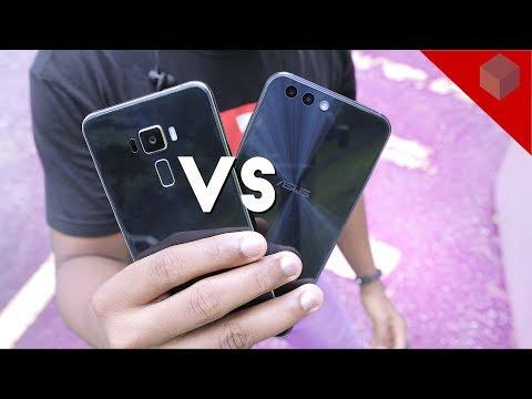ASUS Zenfone 3 VS Zenfone 4 Camera Test!