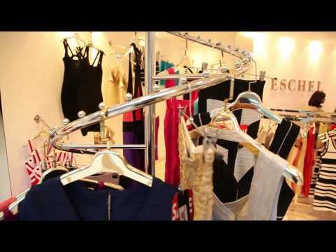 Model Hayla comes to visit ESCHEL Fashion shop in Dubai!