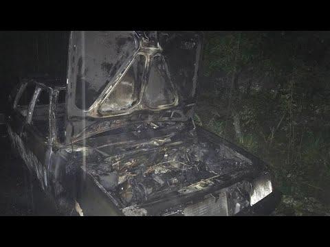 Подробиці нічного підпалу автівки в Ужгороді
