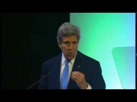 Secretary Kerry Delivers Remarks on Climate Change in Indonesia