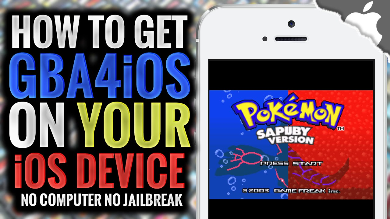 How To Get GBA4iOS 2 1 on your iOS Device! 10 0 2 & Below (NO JAILBREAK)  iPhone iPad iPod Touch