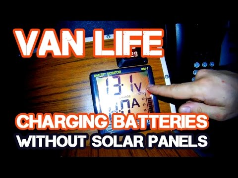 Van Life: Auxiliary Battery Charge