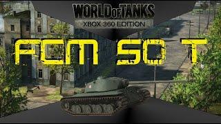 World of tanks: Xbox 360 Edition, Lets play 32 - FCM 50 T, Premium Heavy Tank