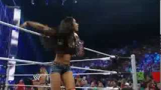 Wrestling DIVAS - Naomi vs. AJ Lee (c).