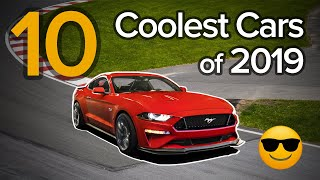 Gambar cover Top 10 Coolest Cars of 2019