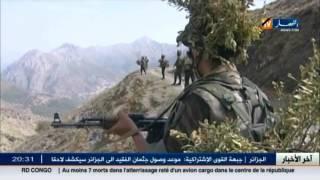 قوات الجيش نفذت عملية خاطفة ضد قياديين في التنظيم الارهابي بتيزي وزو