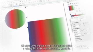 CorelDRAW Graphics Suite X7 - Tour guidato